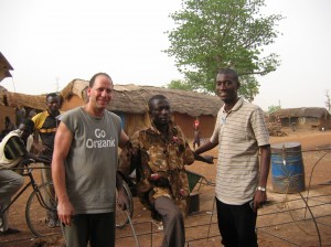 Larry and Toka the village welder.
