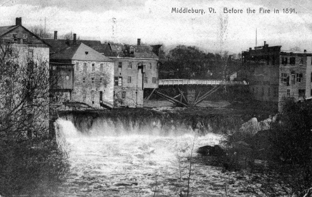 Middlebury Before the 1891 Fire