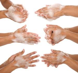 multihands-washing